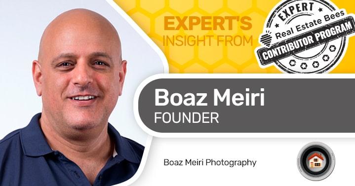 Boaz Meiri, real estate photographer
