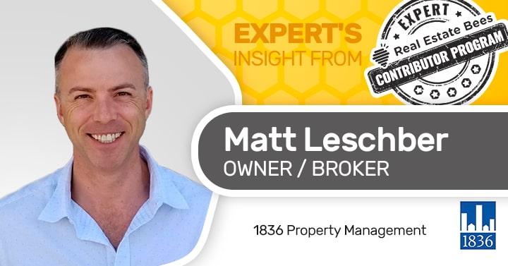 Matt Leschber Property manager