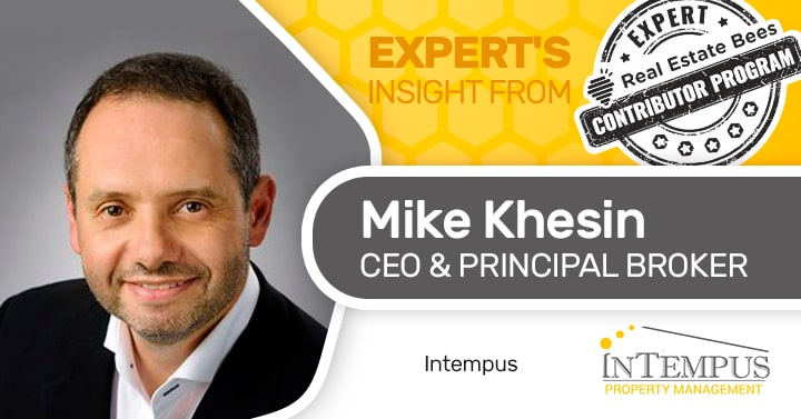 Mike Khesin Property manager