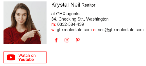 realtor email signature 3