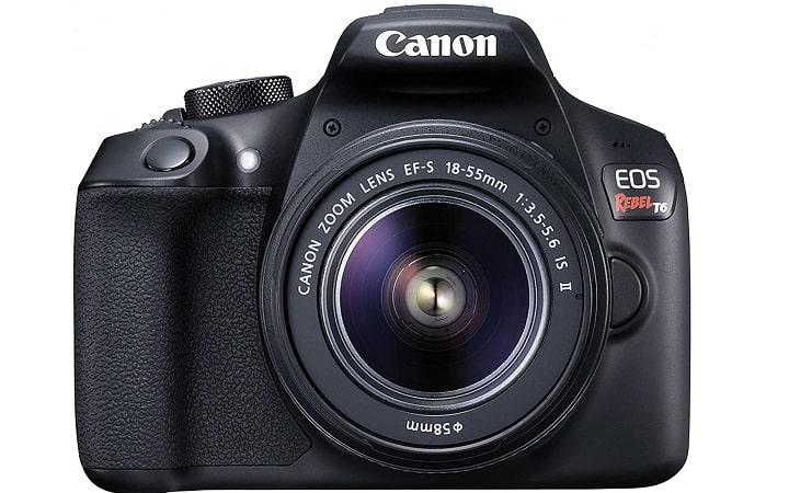 Canon EOS Rebel T6 Digital Photo Camera