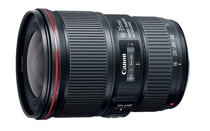 1 CANON EF 16-35mm-Photo Camera Lens