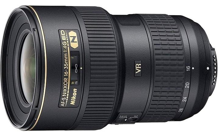 NIKON AF-S NIKKOR 16-35 MM Photo Camera Lens