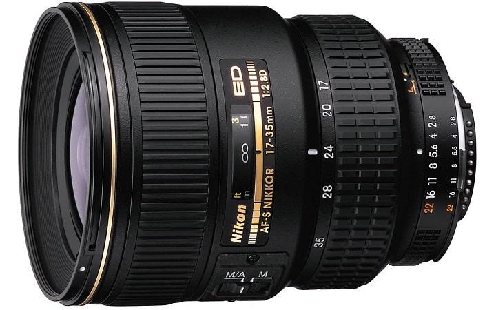 NIKON AF-S ZOOM-NIKKOR 17-35 MM Photo Camera Lens
